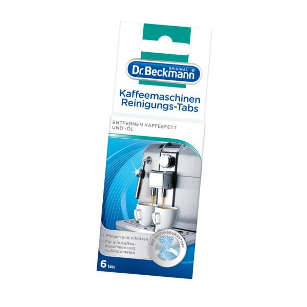 Dr. Beckmann Kaffeemaschinen Reinigungs-Tabs