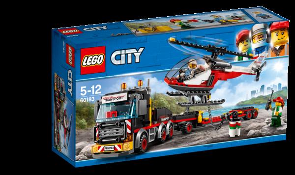 LEGO City Schwerlasttransporter, 60183