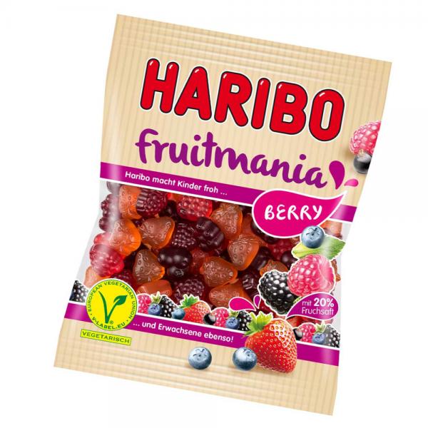 Haribo 175g Fruitmania Berry