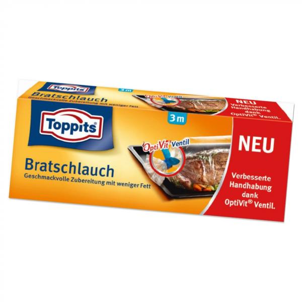 Toppits® Brat-Schlauch mit OptiVit-Ventil 3m