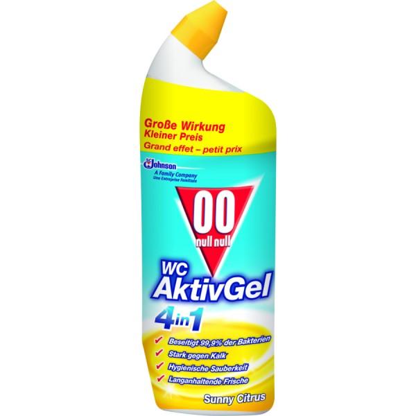 00 WC Aktiv Gel Citrus 4in1 WC-Reiniger 750ml