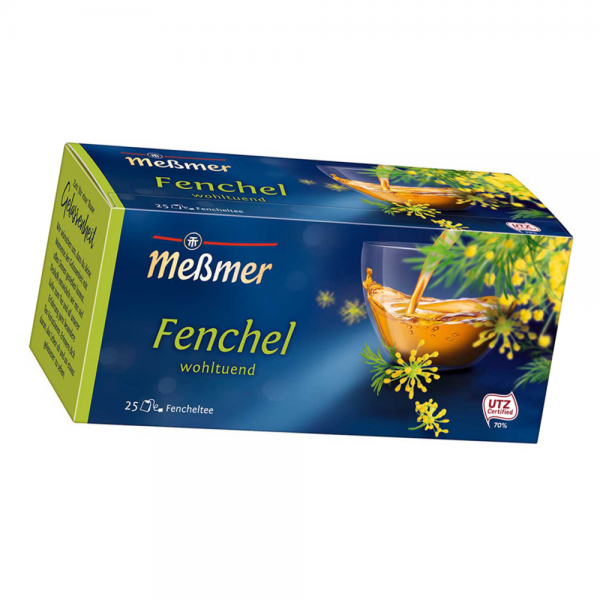 Meßmer Kräuter Tee Fenchel 25er
