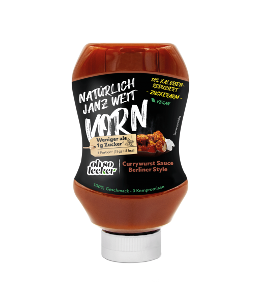 OHSO Currywurst Sauce Berliner Style 350ml