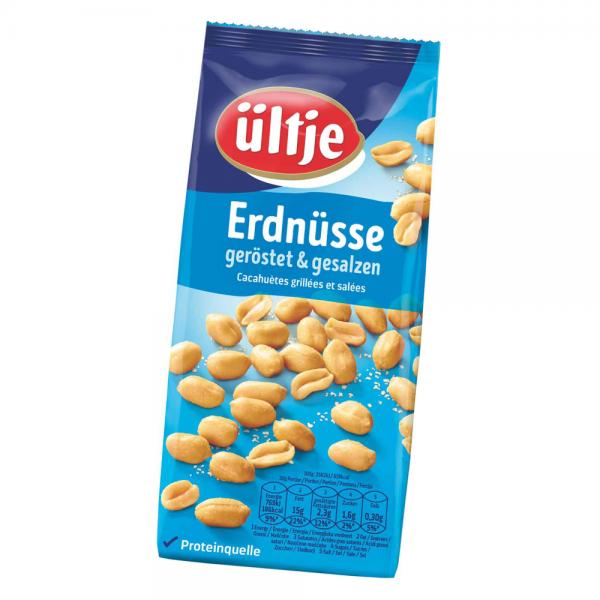ültje Erdnüsse geröstet und gesalzen 500g