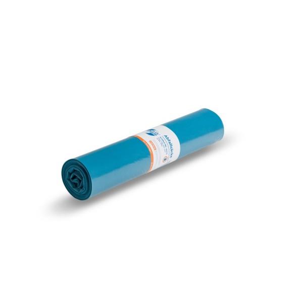 DEISS PREMIUM PLUS 120 Liter, Blau, Typ 60 Müllsack