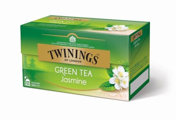Twinings Green Tea Jasmine Grüntee (25 Beutel a 1,8g) 45g