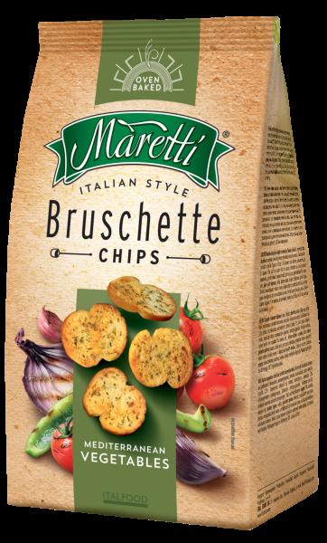 Maretti Mediterranean Vegetables Chips 150g