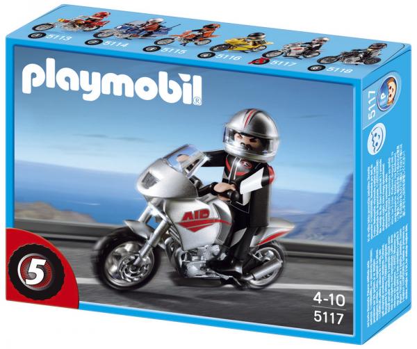 Playmobil 5117 Naked Bike