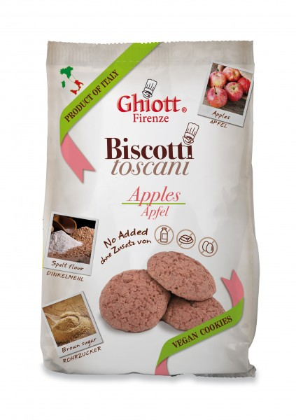 Ghiott Biscuits vegane Kekse Apfel 200g