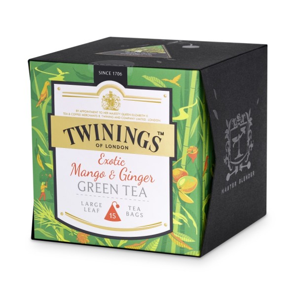 Exotic Mango & Ginger Grün Teemischung