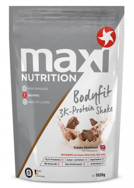 Bodyfit 3 K-Protein Shake Schokolade