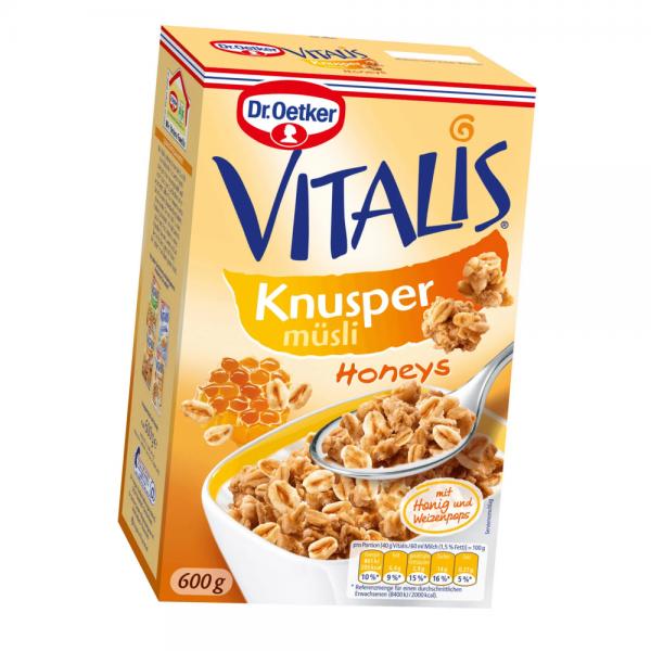 Vitalis Knusper Honeys 600g