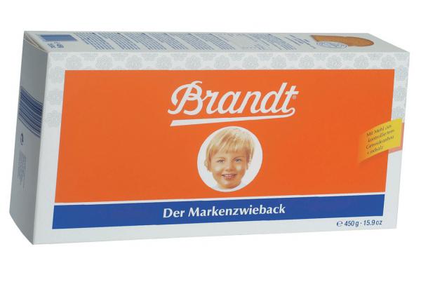 Brandt Markenzwieback 450g