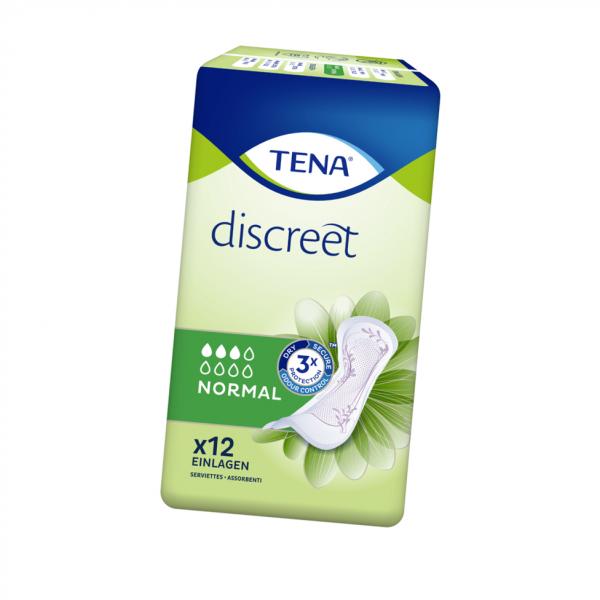 TENA Discreet Normal Slipeinlagen 12er