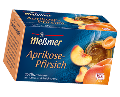 MeßmerTee Aprikose-Pfirsich 55g
