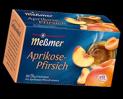 MeßmerTee Aprikose-Pfirsich 20er 55g