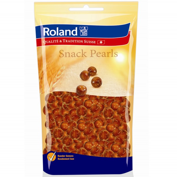 Roland Snack Pearls gesalzen Laugengebäck 100g