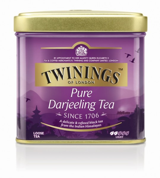 Twinings Pure Darjeeling Offentee Dose 100g
