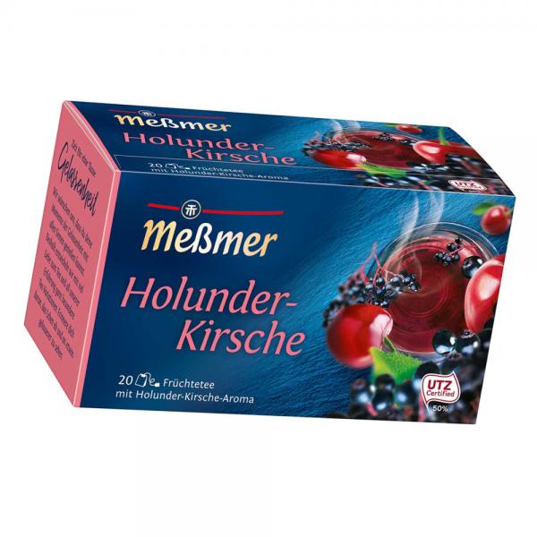 MeßmerTee Holunder-Kirsche 20er 55g