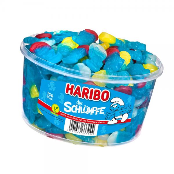 Haribo Schlümpfe 150er Dose