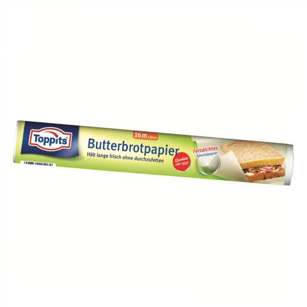 Toppits ® Butterbrotpapier 16m