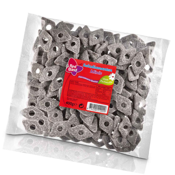 Red Band Mini Salzdiamanten 400g
