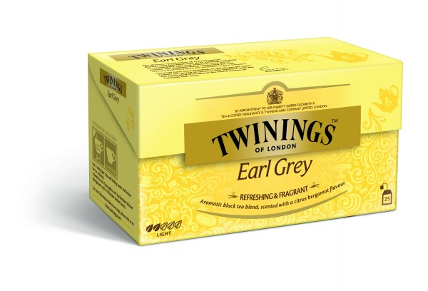 Twinings Earl Grey Schwarztee (25 Beutel a 2g) 50g