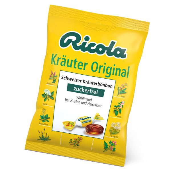 Ricola Kräuter ohne Zucker 75g