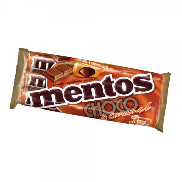 mentos Choco Karamell & Schokolade 3x38g