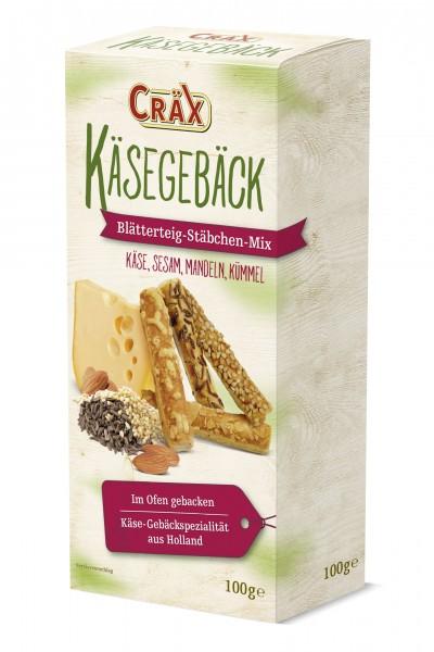 Cräx Käseblätterteig Stäbchen Mix 100g