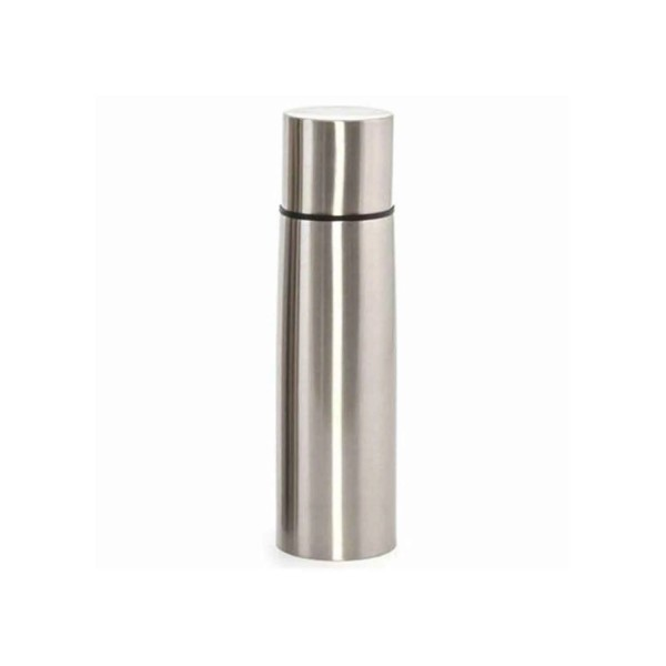 Curver Thermosflasche aus Edelstahl silber 1L