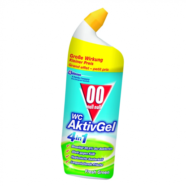 00 WC Aktiv Gel fresh green 4in1 WC-Reiniger 750ml