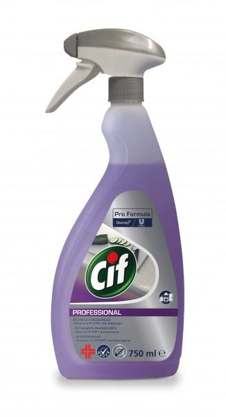 CIF Professional 2in1 Desinfektionsreiniger 750 ml