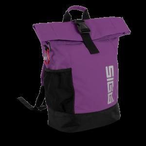 SIGG Rolltop Backpack Medium Rucksack purple