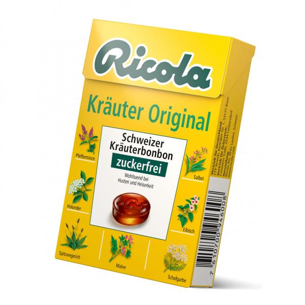 Ricola Kräuter Box OZ 50g