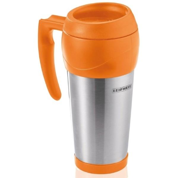 Leifheit Isolierbecher 0,5 Liter orange