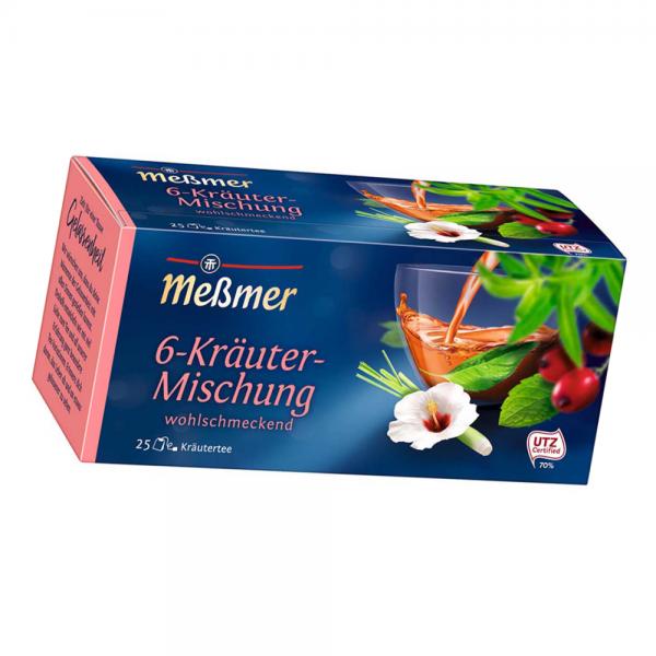 Meßmer 6-Kräuter Tee 25er 50g