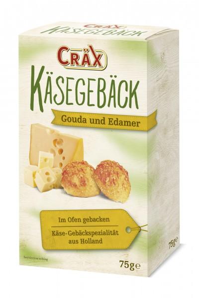 Cräx Käsegebäck Gouda und Edamer 70g