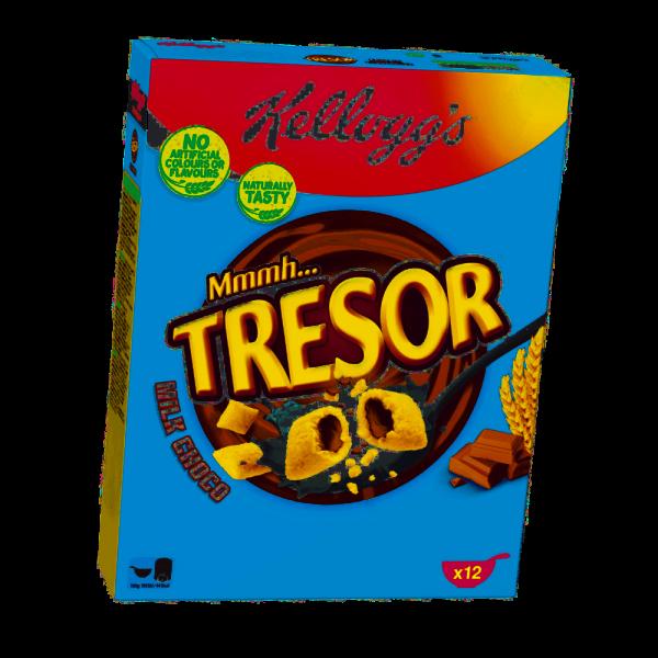 Kellog's Tresor Milk Choco 375g