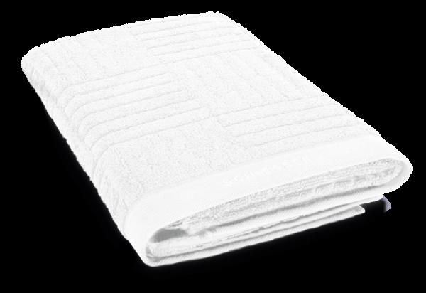 SCHIESSER Duschtuch 70 x 140 cm Weiß