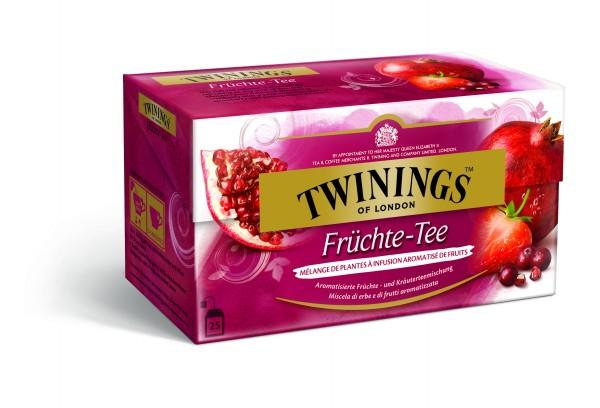 Twinings Früchtetee (25 Beutel a 2g) 50g