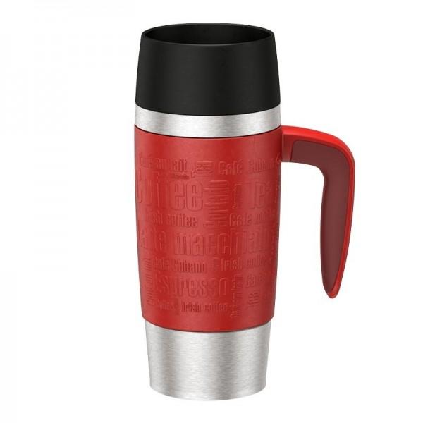 Emsa Isolier-Trinkbecher Travel Mug Handle rot 360ml