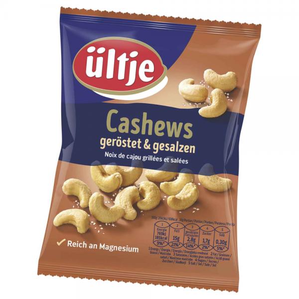 Ültje Cashews geröstet und gesalzen 150g