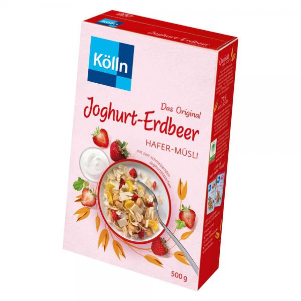 Kölln Hafer-Müsli Joghurt-Erdbeer 500g