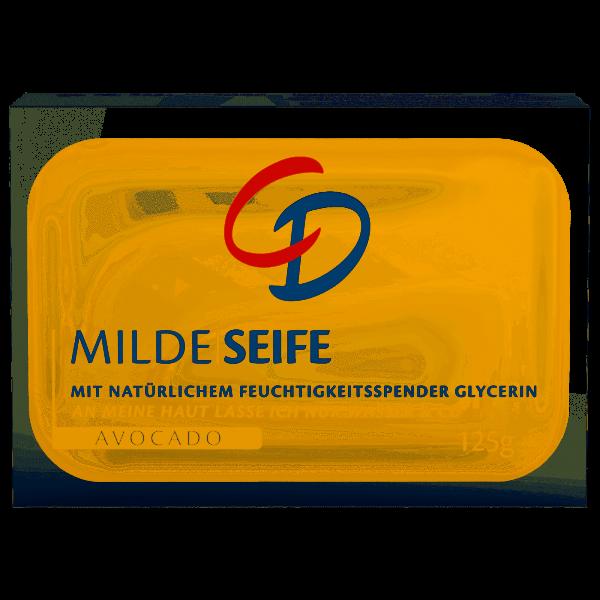 """CD Milde Seife """"Avocado"""" 125g Seifenstück"""