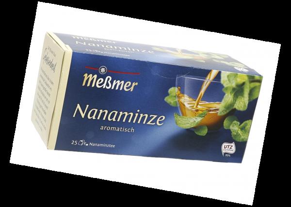Meßmer KräuterTee Nanaminze 43,75g