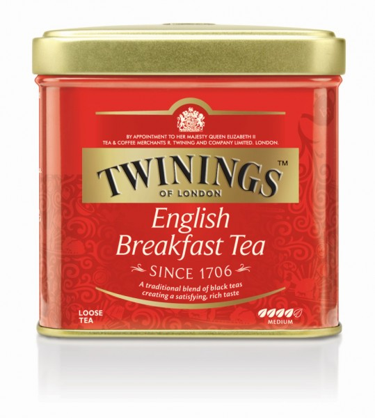 Twinings English Breakfast Offentee Dose 100g