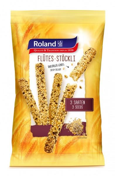Roland Swiss Flûtes Stöckli 3-Korn 125g