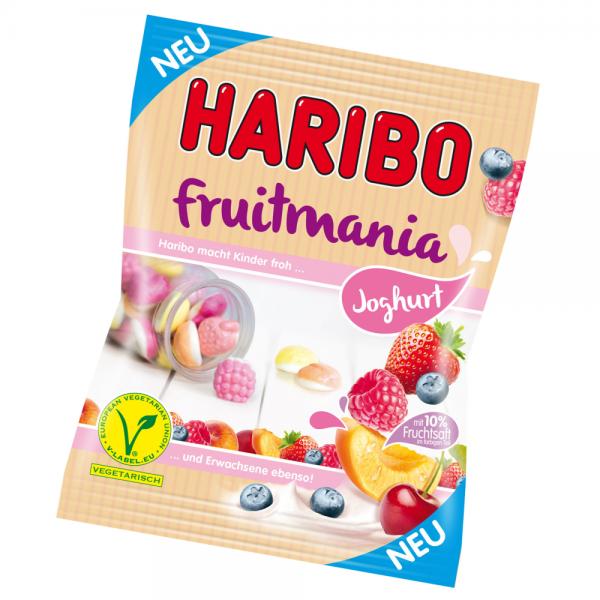 Haribo 175g Fruitmania Joghurt