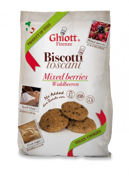 Ghiott Cantuccini Mix Berries 200g